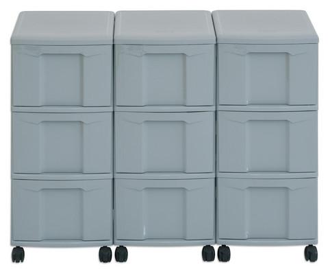 Flexeo Container-System 3 Reihen 9 grosse Boxen HxBxT 66x90x38 cm-21