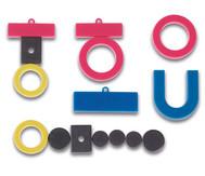 Set mit verschiedenen Magneten