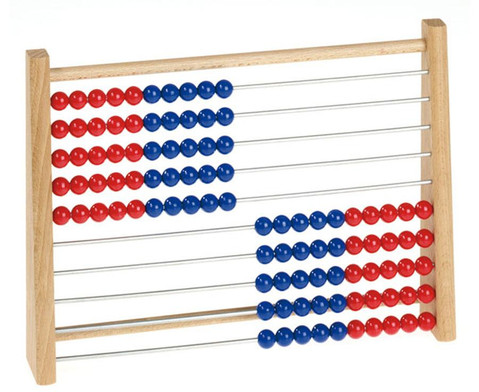 Rechenrahmen rot-blau-1