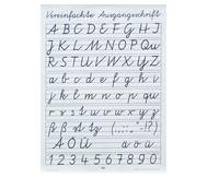 Poster: Vereinfachte Ausgangsschrift