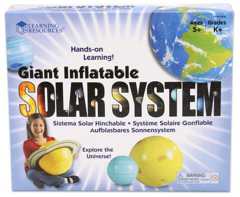 Sonnensystem zum Aufblasen