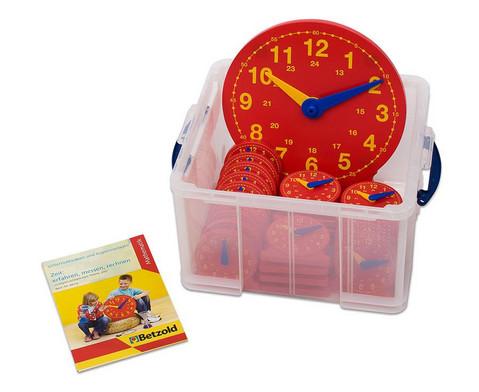 Schueler-Uhr Klassensatz mit 1 Lehreruhr und 25 Schueleruhren