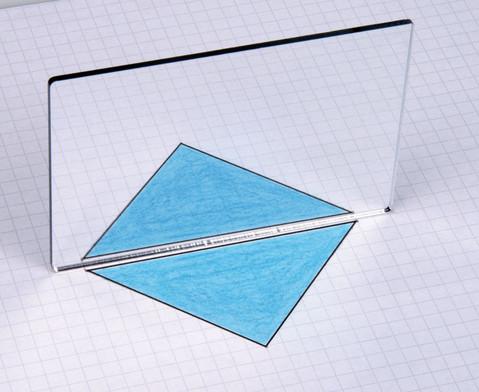 Betzold Geometriespiegel aus Kunstglas einzeln
