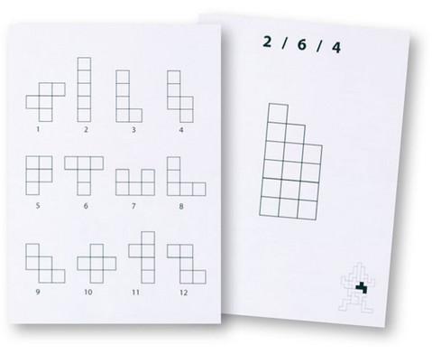 Pentomino Arbeitskarten Satz 1