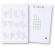 Pentomino Arbeitskarten, Satz 1