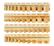 4 Blöcke mit Einsatz-Zylindern