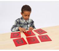 Tastplatten: Grossbuchstaben