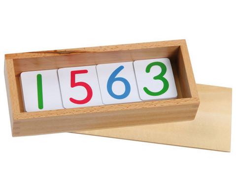 Grosse Zahlenkarten 1 - 1000