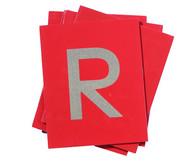 Tastplatten  Gross- und Kleinbuchstaben