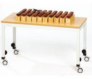 Spieltisch B, fahrbar, 110 x 70 cm