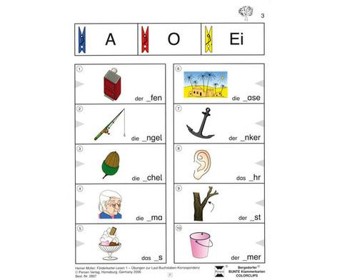 Colorclip Foerderkartei Lesen