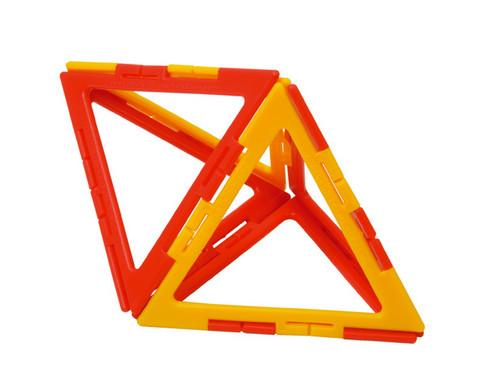 Polydron Prismen- und Pyramiden-Set - Kantenmodelle-4