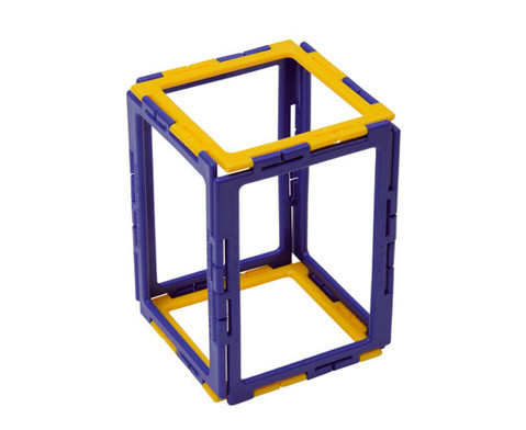 Polydron Prismen- und Pyramiden-Set - Kantenmodelle-5