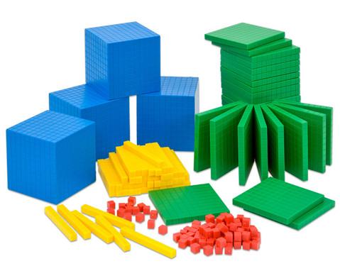 Systembloecke Zehnerbasis-Satz 184 Teile