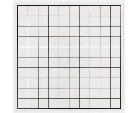 Transparentes Hunderter-Gitter - Gitter ohne Zahlen-1