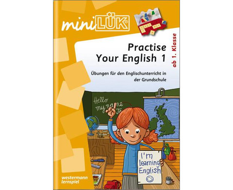 minLUEK - Practise your English Step 1