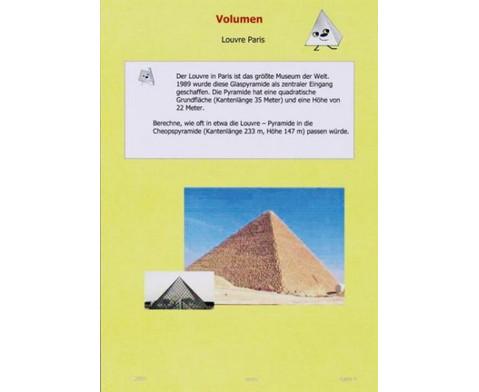 mathematik selbst entdecken pyramide. Black Bedroom Furniture Sets. Home Design Ideas