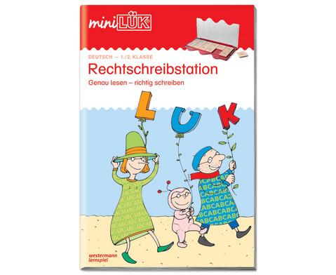 miniLUEK Rechtschreibstation 1-2 Klasse