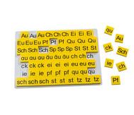 Buchstabenergänzungssatz zur Lese-Magnetbox