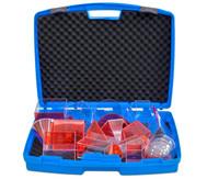 Füllkörper-Set, 17 Teile im stabilen Kunststoffkoffer