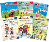 Leserabe Lesestufe 1 und 2 - Set mit allen 10 Bänden