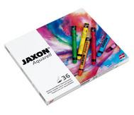 Jaxon Aquarell Wachspastelle, 36 Farben