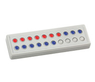 Abaco 20 tricolor rot-blau