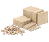 RE-WOOD® Zehnersystemsatz, 121 Teile