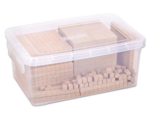 RE-WOOD erw Zehnersystemsatz 131 Teile  in Stapelbox