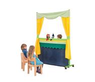 Fahrbares Puppentheater