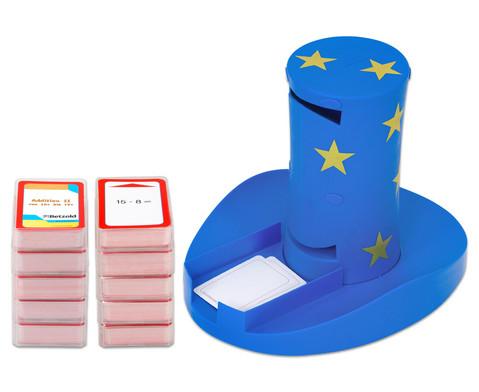 Magischer Zylinder mit 10 Karten-Sets zum Rechnen im 1 Schuljahr-1