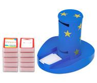 Magischer Zylinder mit 10 Karten-Sets zum Rechnen im 3. Schuljahr