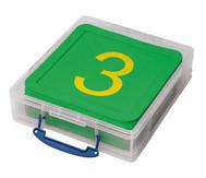 21 Zahlenmatten in stabiler Box