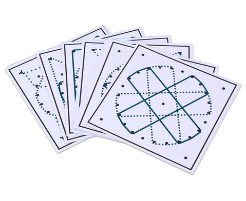 Betzold Arbeitskarten fuer das runde Geometriebrett