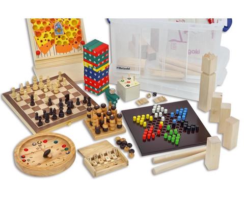 Holzspiele-Box