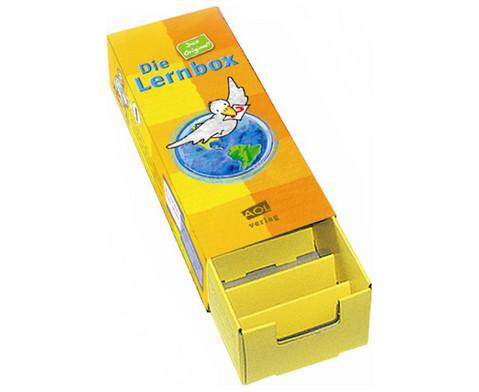Lernbox aus Leichtkarton 10er-Paket