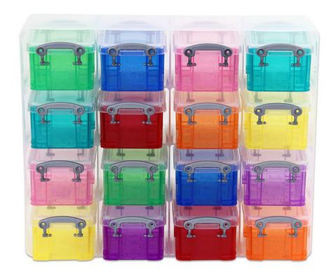 16 bunte Sortierboxen im Transparentschuber-2
