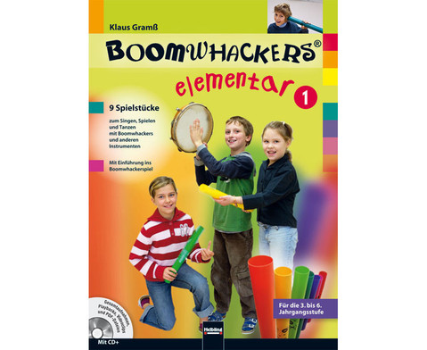 Boomwhackers elementar 1-1