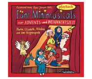 Playback-CD: Minimusicals, Spielzeit ca. 70 min.