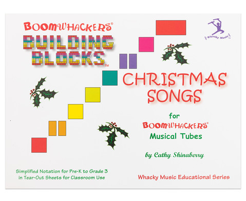 Building Blocks Christmas Songs Buch fuer Boomwhackers