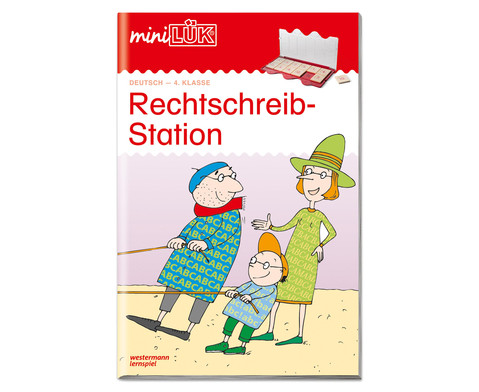 miniLUEK Rechtschreibstation 4 Klasse