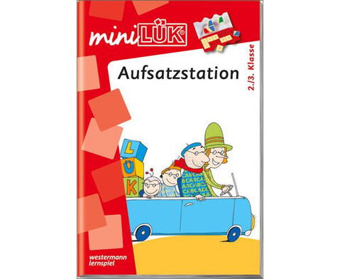 miniLUEK-Heft Aufsatzstation 2-3 Klasse
