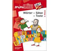 miniLÜK-Heft: Wörter, Sätze, Texte 2. Klasse