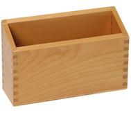 Holzkasten für Fühlzahlen