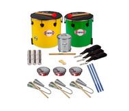 Samba-Set mit 13 Instrumenten