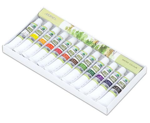 Aquarellfarbenset 12 Tuben mit je 12 ml