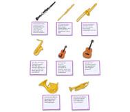 "LeseDuo ""Musikinstrumente"""
