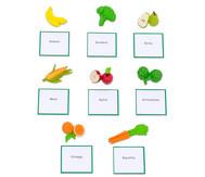 """LeseDuo """"Obst- und Gemüse"""""""