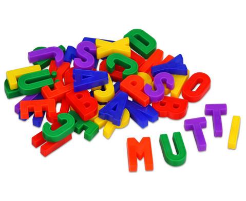 Magnetbuchstaben gross 48 Stueck