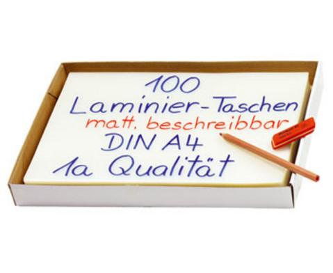Karton mit 100 Compra Laminierfolien matt DIN A4 250 mic-2